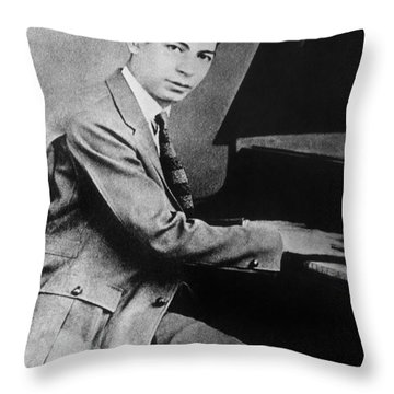 Jelly Roll Morton. For Licensing Requests Visit Granger.com Throw Pillow