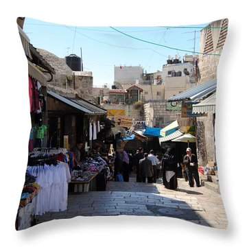 The Old City Of Jerusalem 1 Throw Pillow