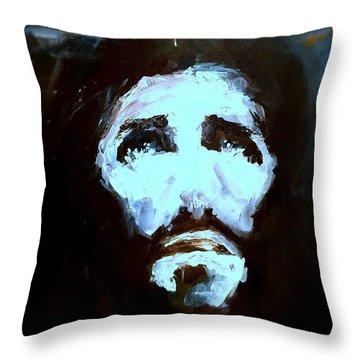 Jesus - 4 Throw Pillow by Jun Jamosmos