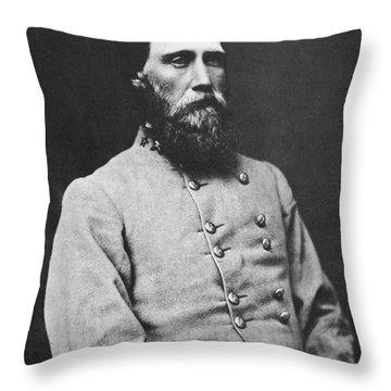 John Bell Hood (1831-1879) Throw Pillow by Granger