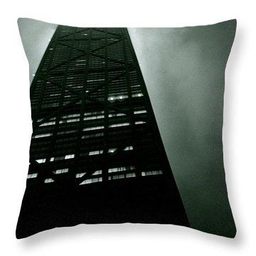 John Hancock Building - Chicago Illinois Throw Pillow