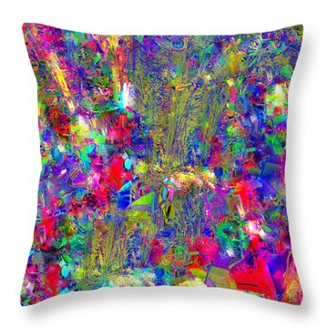 Throw Pillow featuring the photograph Joy by EDi by Darlene