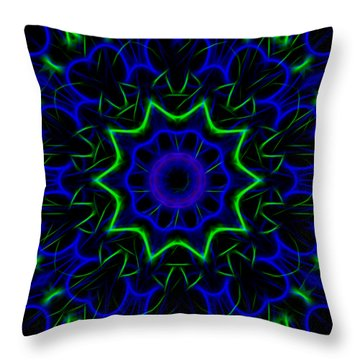 Kaleidoscope 449 Throw Pillow