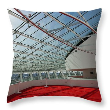 Kauffman Center For The Performing Arts Throw Pillow