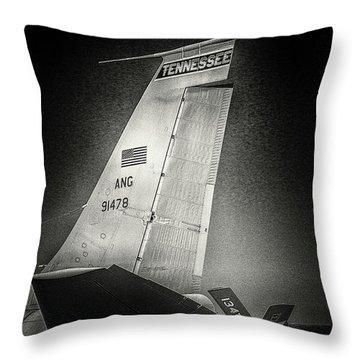 Kc_135 In Flight Refueling Tanker Throw Pillow
