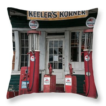Keeler's Korner Iv Throw Pillow