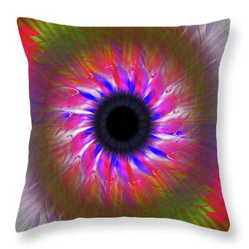 Keeping My Eye On You Throw Pillow