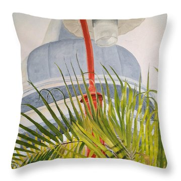 Key West Turret Throw Pillow by John Schuller
