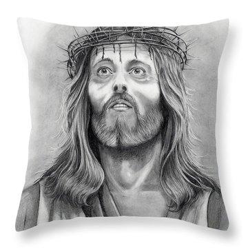 King Of Kings Throw Pillow by Murphy Elliott