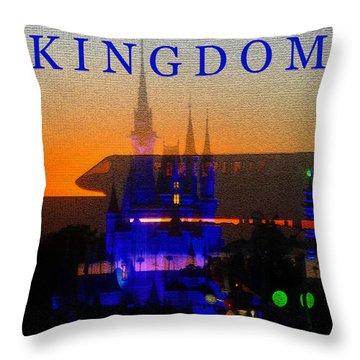 Throw Pillow featuring the digital art Kingdom by David Lee Thompson
