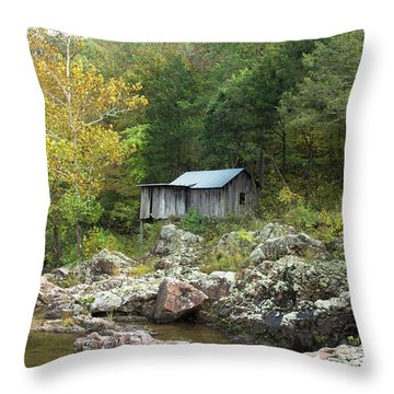 Klepzig Mill Throw Pillow by Julie Clements