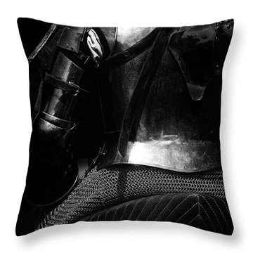 Throw Pillow featuring the photograph Knights Of Old 15 by Bob Christopher