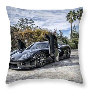 Koenigsegg Ccx Throw Pillow