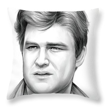 Kurt Russell Throw Pillow