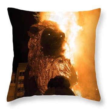 La Crema Fallas 2015 Throw Pillow