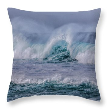 La Santa - Lanzarote Throw Pillow