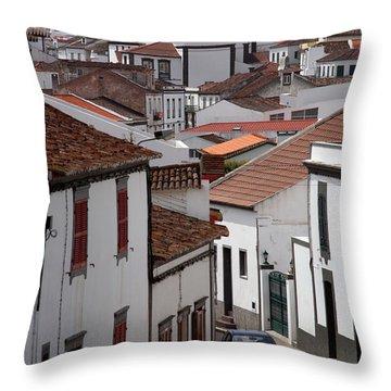 Lagoa - Azores Islands Throw Pillow by Gaspar Avila
