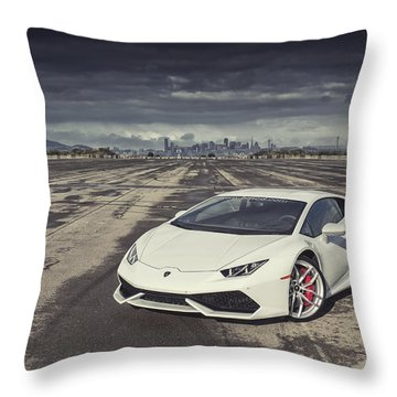 Lamborghini Huracan Throw Pillow