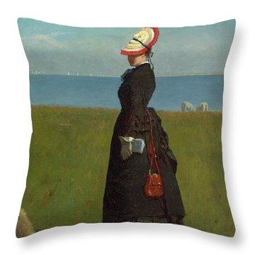 Lambs Nantucket Throw Pillow