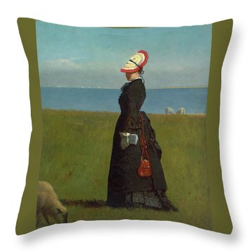 Lambs Nantucket Throw Pillow