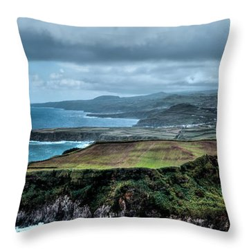 Landscapespanoramas Throw Pillow