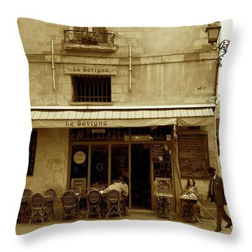 Le Sevigne Throw Pillow
