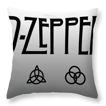 Led Zeppelin Throw Pillow