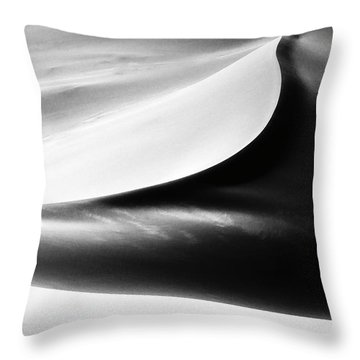 Less Is More. Throw Pillow