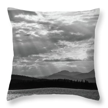 Let's Get Lost Throw Pillow by Yvette Van Teeffelen
