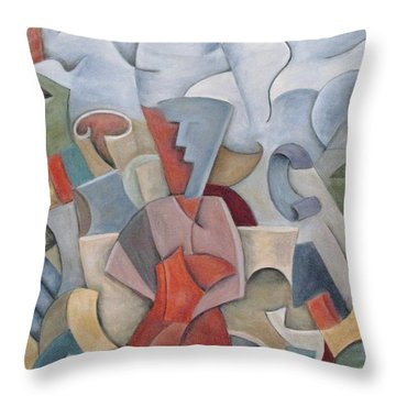 Letting Go Throw Pillow by Trish Toro
