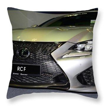 Lexus Rcf Throw Pillow