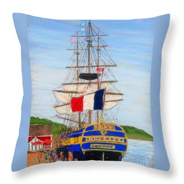 L'hermione Throw Pillow