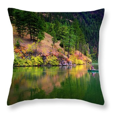 Throw Pillow featuring the photograph Life Is But A Dream by John Poon