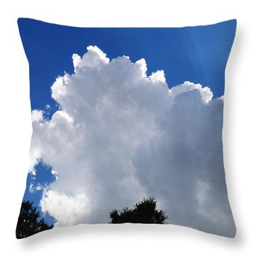 Light And Shadows Throw Pillow by Warren Thompson