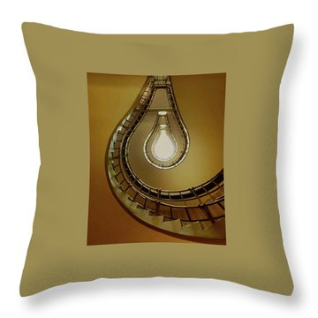 Light Bulb Staircase Throw Pillow