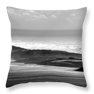 Light On The Dunes Throw Pillow
