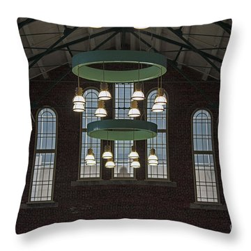 Lights Throw Pillow