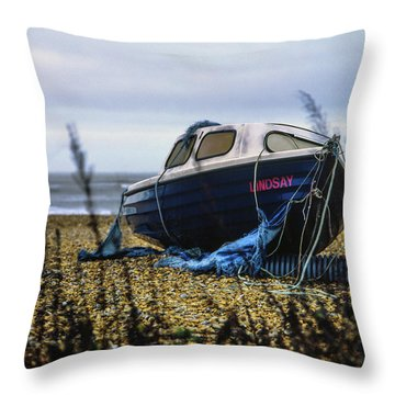Throw Pillow featuring the photograph Lindsay by Will Gudgeon