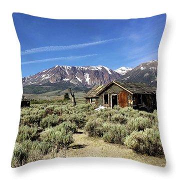 Little House Throw Pillow by Joseph G Holland