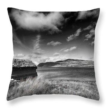 Loch Hope Throw Pillow