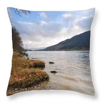 Loch Morlich Throw Pillow