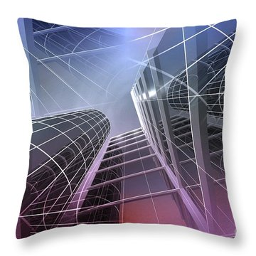 Look Into The Sky Throw Pillow
