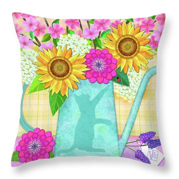 Looking For Spring Throw Pillow
