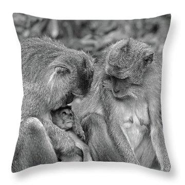 Love Throw Pillow by Cassandra Buckley