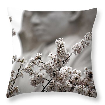MLK Throw Pillow