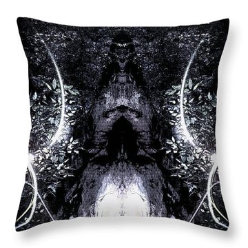 Lovely Lilith  Throw Pillow