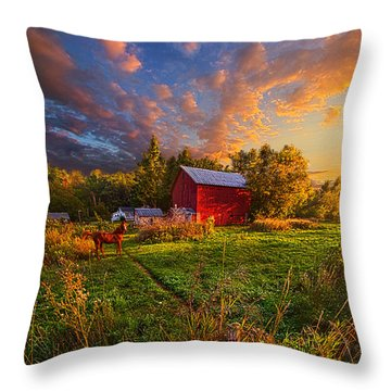 Love's Pure Light Throw Pillow