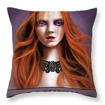 Lucy Westenra Throw Pillow