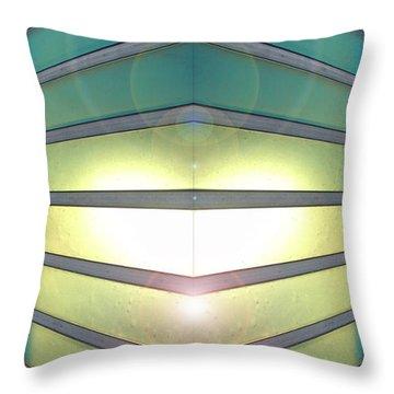 Throw Pillow featuring the photograph Luminous Corner by John Norman Stewart