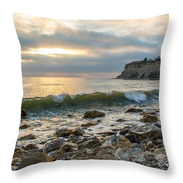 Lunada Bay Throw Pillow